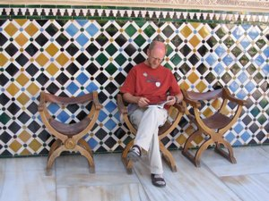 mozaik in Alhambra